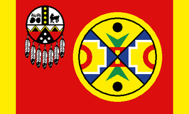 Aroostook Band of Micmac Indians Flag