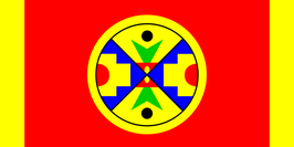 Eel Ground First Nation Flag