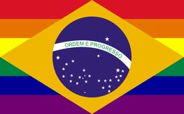 Brazil LGBT Pride Flag