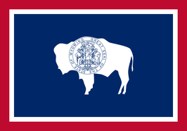 Wyoming (WY) Flag