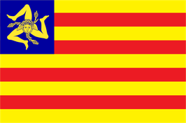 Sicilian Nation Flag