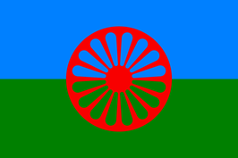 Romani Peoples Flag