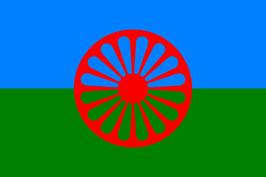 Romani Peoples Flag