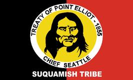 Suquamish Tribe Flag