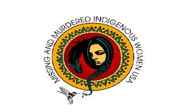 Murdered & Missing Indigenous Women Movement Flag