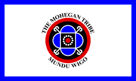 Mohegan Tribe of Connecticut Flag