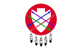 Peoria Indian Tribe of Oklahoma Flag