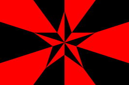 Libertarian Socialist Flag