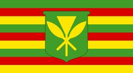 Hawai'i Kanaka Maoli Flag