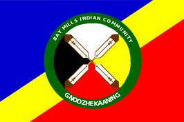Bay Mills Indian Community Flag