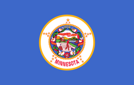 Minnesota (MN) Flag