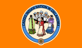 Caddo Indian Nation in Oklahoma Flag