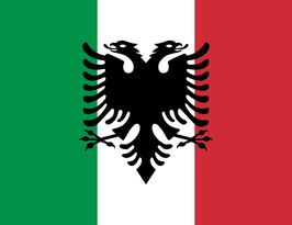 Italian-Arberesh Peoples Flag