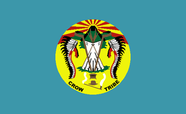 Crow Tribe of Montana Flag