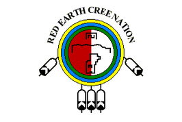 Red Earth Cree Nation Flag