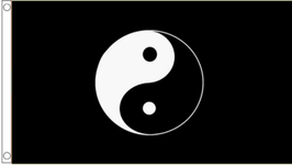 Taoism Flag (Black)