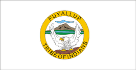 Puyallup Tribe Flag