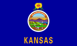 Kansas (KS) Flag