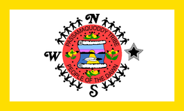 Passamakoddy Tribe Flag