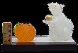 商品名:博多びーどろ「子と橙」