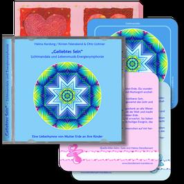 """Herzdiamant-Mandala und Lebensmusik-Energiesymphonie """"Geliebtes Sein"""" (Klavier und Gesang)"""
