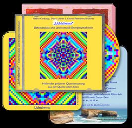 """Herzdiamant-Mandala und Lebensmusik-Energiesymphonie """"Lichtchemo"""" (Klavier und Gesang)"""