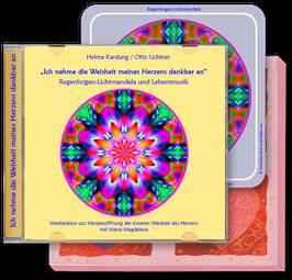 """Herzdiamant-Mandala und Lebensmusik """"Ich nehme die Weisheit meines Herzens dankbar an"""""""