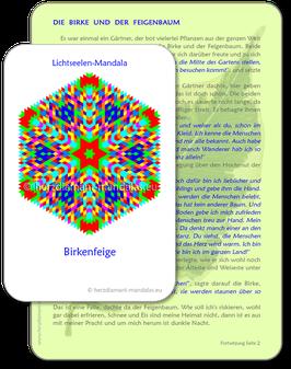 """Lichtseelen-Set """"Birkenfeige"""""""