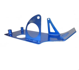 Unterfahrschutz Aluminium Blau eloxiert