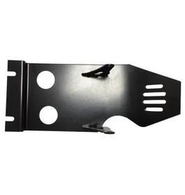 Unterfahrschutz Stahl schwarz lackiert