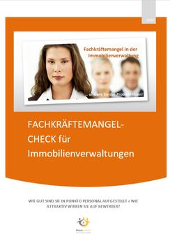 FACHKRÄFTEMANGEL-Check Hausverwaltung