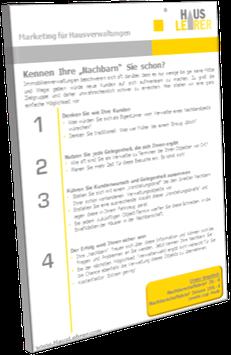 Nachbarschaftsbrief (Basic): Direktmarketing pur ...