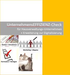 UnternehmensEFFIZIENZ-Check für Hausverwaltungen