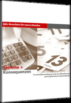 Kunden-Info TERMINE + KONSEQUENZEN