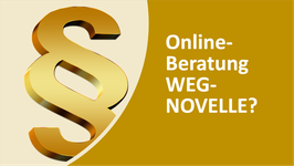 Online-Beratung zur Umsetzung der WEG-Novelle in der HV