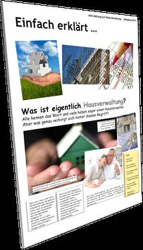 Kunden-Zeitung: Hausverwaltung - Einfach erklärt ...