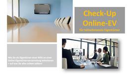 ANLEITUNG für Eigentümer zur Teilnahme an der Online-EV