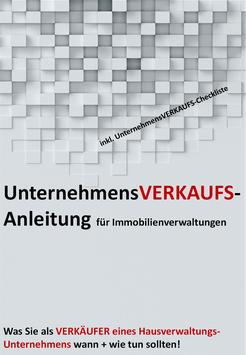 UnternehmensVERKAUFS-Anleitung für den Verkauf eines Hausverwaltungs-Unternehmens
