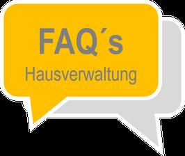 FAQ-Bereich für Ihre Hausverwaltungs-Homepage