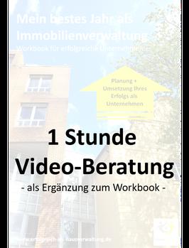 Mein bestes Jahr als Immobilienverwaltung - 1 Stunde Video-Beratung