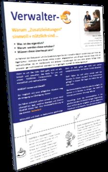 Kunden-Info ZUSATZLEISTUNGEN VERWALTER-GEBÜHR