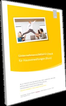 UnternehmensUMSATZ-Check für Hausverwaltungen (Kurz)