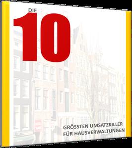 Die 10 größten Umsatzkiller für Immobilienverwaltungen