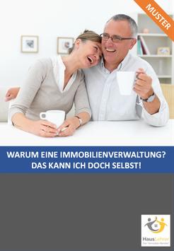 Exklusiv-Broschüre: Warum eine Immobilienverwaltung? Das können wir doch selbst!