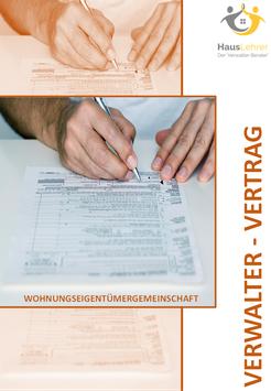 Muster Verwalter-Vertrag - individualisiert mit ihrem Logo