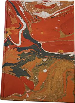 Quaderno carta marmorizzata Carmen