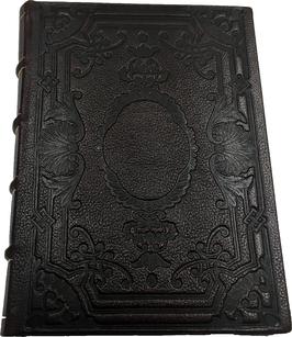 Quaderno pelle marrone scuro