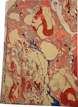 Quaderno carta marmorizzata Beatrice