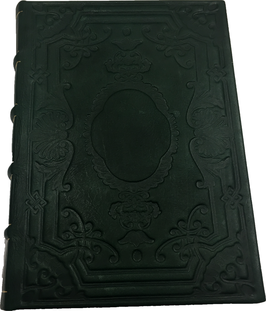Quaderno pelle verde
