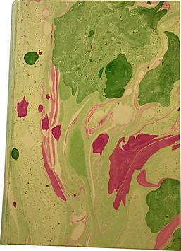 Quaderno carta marmorizzata Valentina